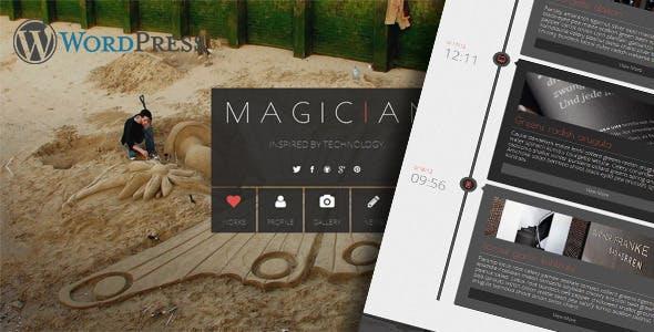 Magician Responsive Parallax WordPress Theme