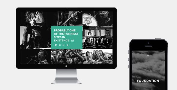 Foundation Website Templates from ThemeForest