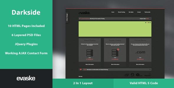 Darkside/Lightside - Two In One Hosting Layout - Hosting Technology