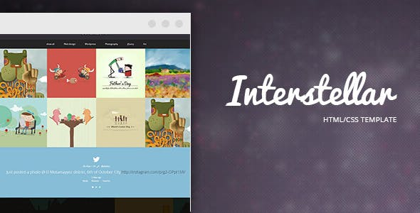 Interstellar - Multi-purpose HTML Template