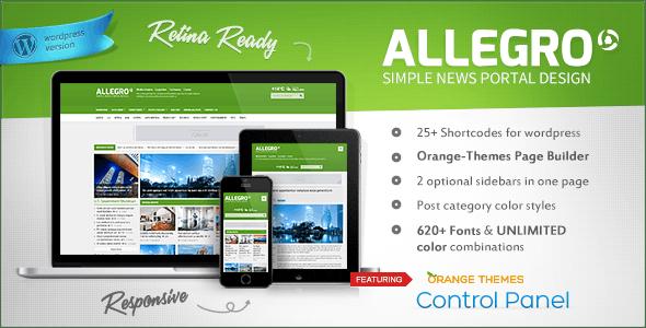 Allegro - Multipurpose News, Magazine Theme