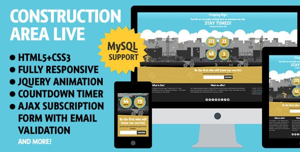 Mysql Php Website Templates From Themeforest