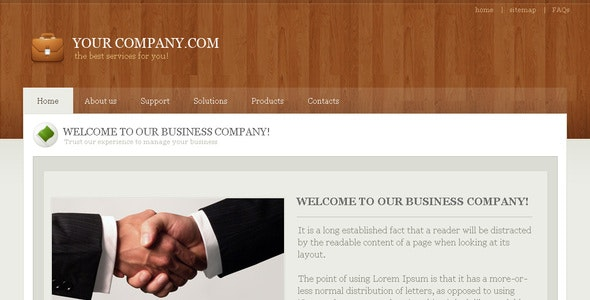 Business Company - Business Corporate