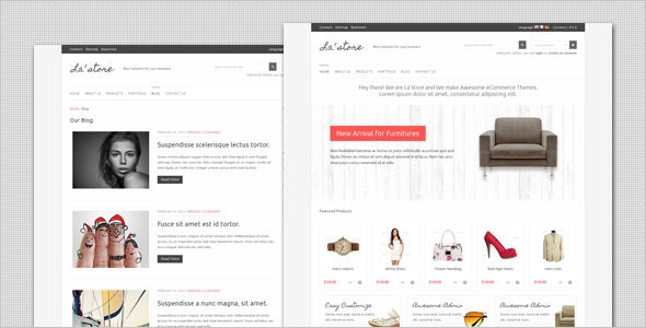 La Store - WooCommerce WordPress Theme - WooCommerce eCommerce
