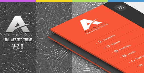 Alabama / Creative HTML Template