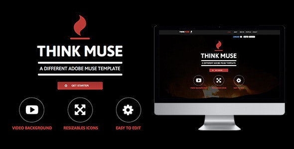 Think Muse Template - Creative Muse Templates