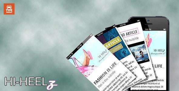 Hi-Heelz Multipurpose TypeEngine Theme - TypeEngine Themes