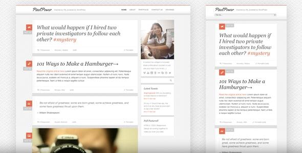 PixelPower - Responsive HTML5/CSS3 Template - Portfolio Creative