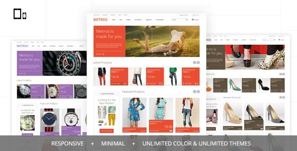 METROS - Minimalist Responsive CS-Cart Theme - CS-Cart eCommerce