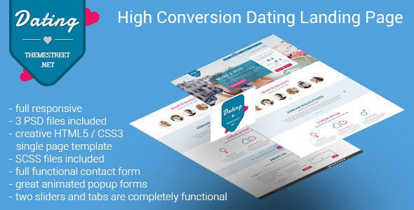 Dating Paradise - Landing Pages Marketing