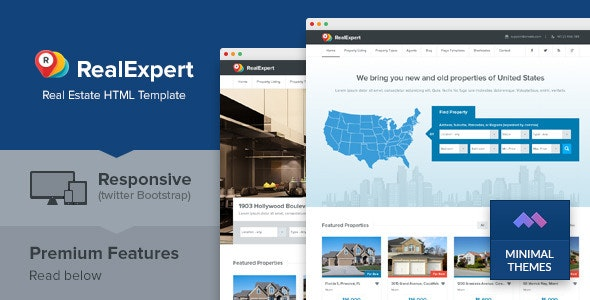 Real Expert - Responsive Real Estate HTML Template - Business Corporate