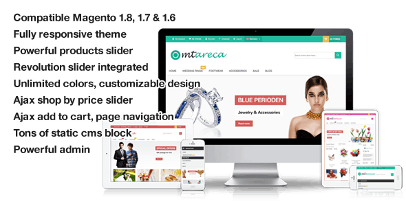 Areca - Multi-Purpose Responsive Magento Theme - Magento eCommerce