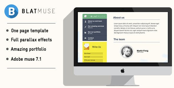 Blatmuse | Creative agency design