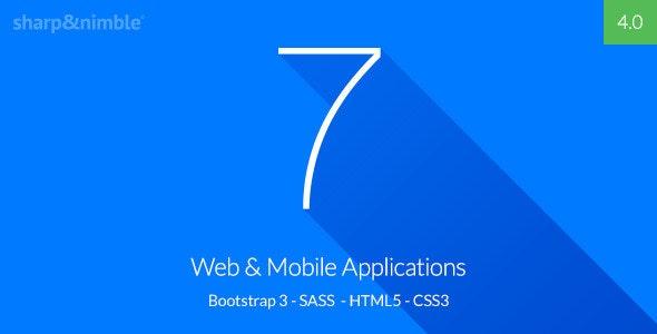 Se7en - Bootstrap 3 Responsive Admin Template - Admin Templates Site Templates