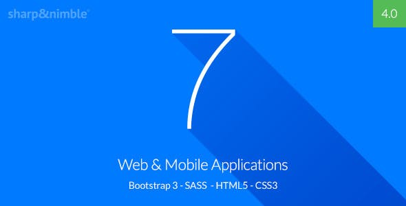 Se7en - Bootstrap 3 Responsive Admin Template