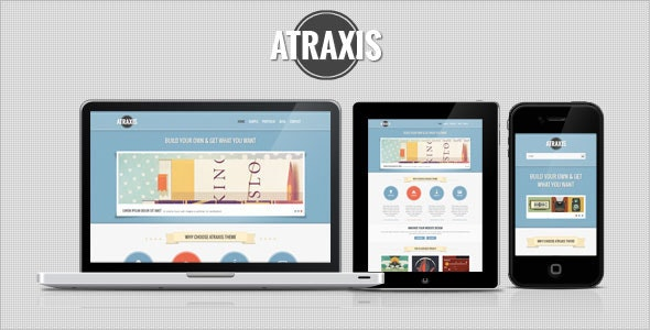 Atraxis - Creative Portfolio WordPress Theme - Portfolio Creative