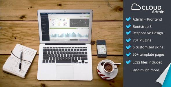 Cloud Admin - Bootstrap Responsive Dashboard