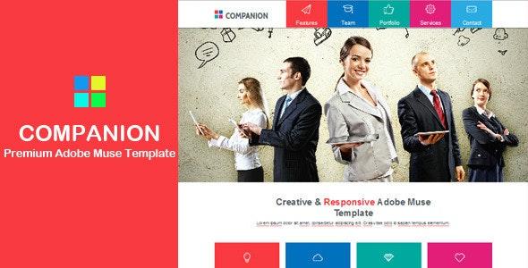 Companion - Multi-purpose Muse Template - Corporate Muse Templates