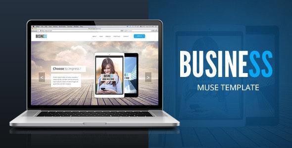 Business - Corporate Multipurpose Template  - Corporate Muse Templates