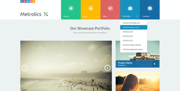 Windows 8 Style Templates from ThemeForest