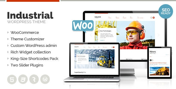 Industrial - Multi-Purpose Responsive WP Theme - Miscellaneous WordPress