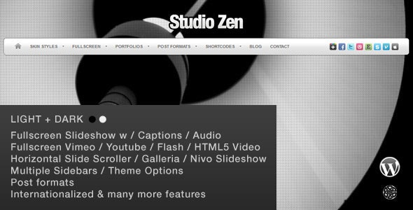 Studio Zen | Photography Theme for WordPress - Photography Creative
