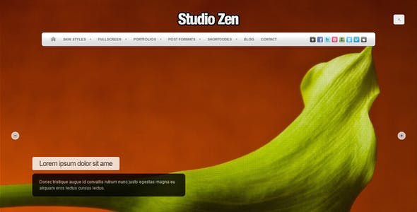 Studio Zen | Photography Theme for WordPress