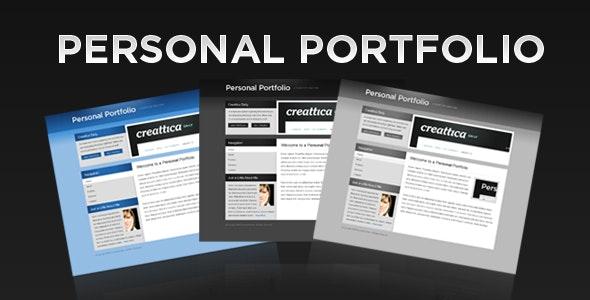 Personal Portfolio - Portfolio Creative