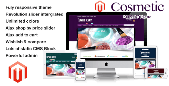 Cosmetic - Responsive Magento Theme - Health & Beauty Magento