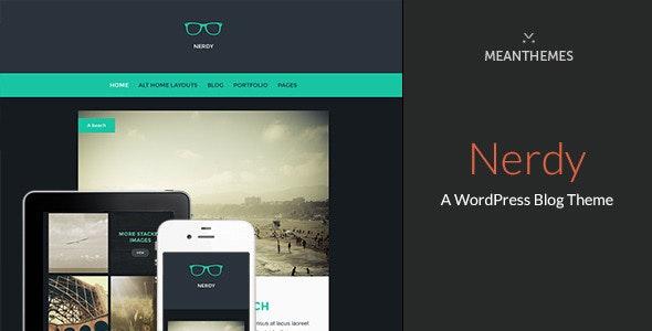 Nerdy: A WordPress Blog Theme - Personal Blog / Magazine