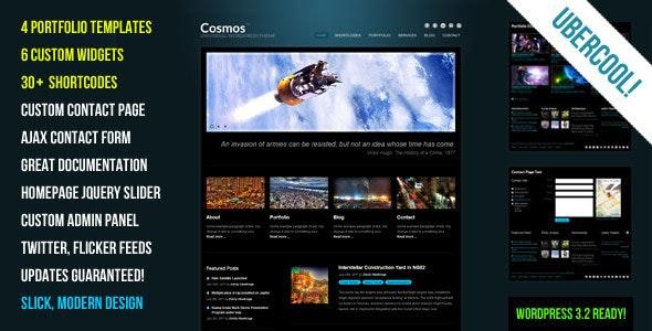 Cosmos - Creative WordPress Theme - Portfolio Creative