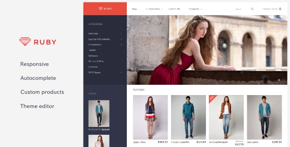 Ruby - Responsive OpenCart Theme - Fashion OpenCart