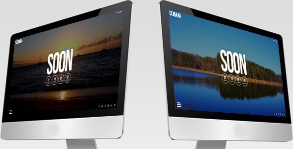 CEMARA Responsive Coming Soon Page - Under Construction Specialty Pages
