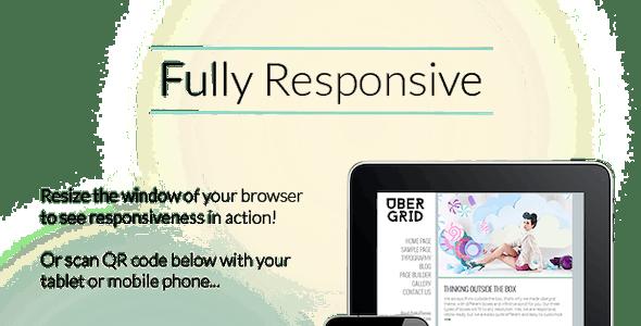Ubergrid - Responsive Grid WordPress Theme