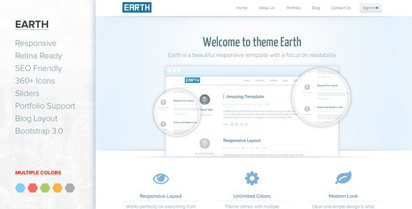 Jupiter - Responsive Clean Bootstrap 3 template - Business Corporate