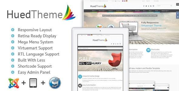 HuedTheme - Responsive Virtuemart Joomla Template - VirtueMart Joomla