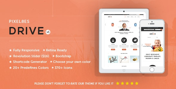 Drive - Multi-Purpose WordPress Theme - Business Corporate