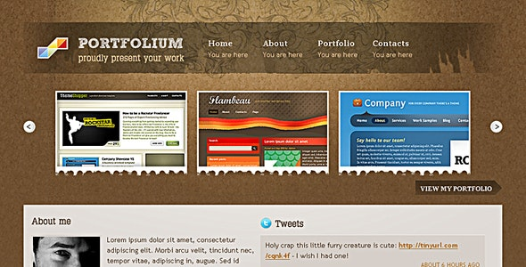 Portfolium - Showcase your work by tonyc | ThemeForest
