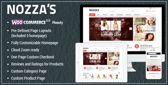 WooCommerce WordPress Theme - FashionZozza - WooCommerce eCommerce