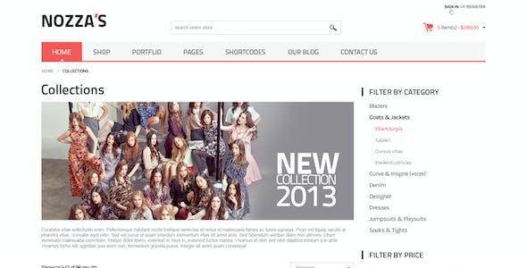 WooCommerce WordPress Theme - FashionZozza