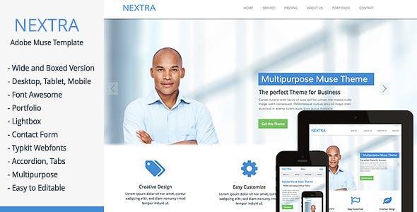 Nextra - Multi-Purpose Muse Template