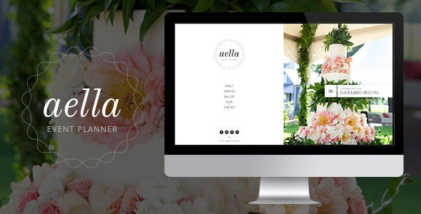 Aella :: PSD Template for Event Planners - Events Entertainment