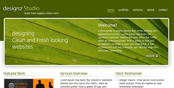 Fresh Green Business Template