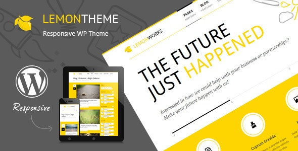Lemon - Responsive Portfolio WordPress Theme - Portfolio Creative