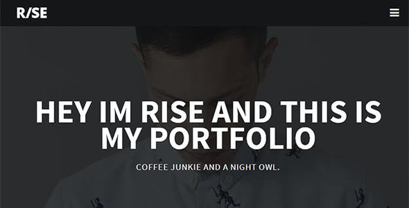 Rise - Responsive One Page Parallax Template