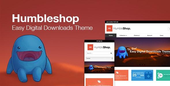 Humbleshop - Minimal Easy Digital Downloads Theme - Miscellaneous eCommerce