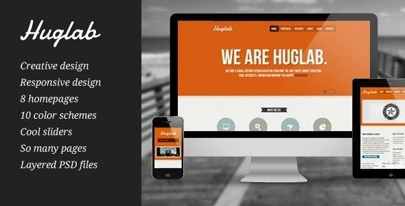 Huglab - Responsive Multi-Purpose Business Site - Business Corporate