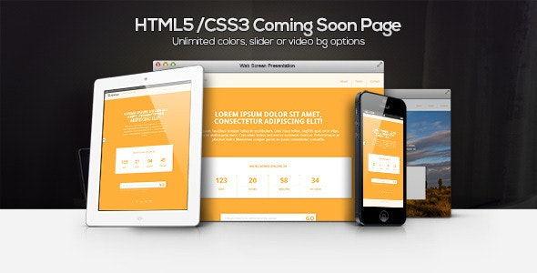 Underco - Responsive HTML5 coming soon page - Under Construction Specialty Pages