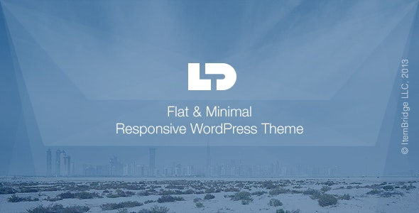 LightDose — Flat&Minimal WordPress Theme - Creative WordPress