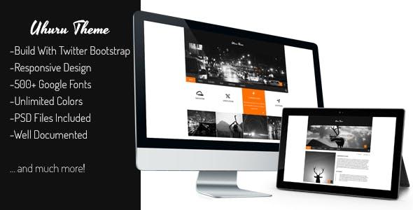 Download Uhuru - Responsive Multi-Purpose Concrete5 Theme